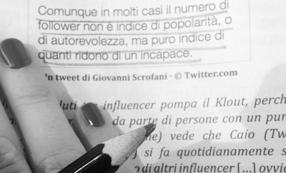 I follower: indice di autorevolezza o di pochezza?